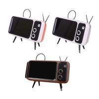 Speakers Bang♥ Mini Speaker Retro TV Mobile Phone Screen Stand