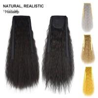 Wig Extension Rambut Sintetis Panjang Keriting Gelombang Panjang