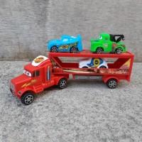 Mainan Mack Truk Trailer - Cars Mobil Angkut Anak Edukatif Truck
