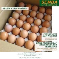 TELUR AYAM NEGERI 1 KRAT Lauk Sembako Food Makanan Murah Denpasar Bali