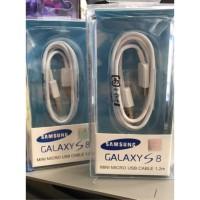 Terhot Kabel Data Samsung S8 / S9 Type C Ori 100 1.2M Baik