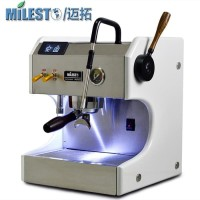Milesto Aurora mesin kopi mesin espresso double boiler