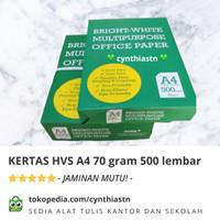 Kertas HVS PRINT KANTOR A4 70 gram MURAH BW DUS-AN [GOJEK ONLY]