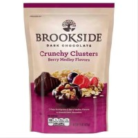 Coklat BROOKSIDE Dark Chocolate Crunchy Clusters 141gram - Terenak