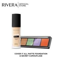 Rivera Cover It All + Secret Camouflage ( Warna Mohon Tulis Di Note )