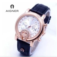 jam tangan A-igner wanita kulit