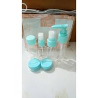 Botol Travel kit Set 7 in 1 toiletries bottle