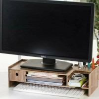 Meja Tempat Rak Laptop Komputer Dekstop Storage Monitor Camputer