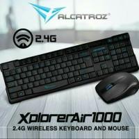 Keyboard+ mouse Alcatroz wireless Xplorer Air 1000