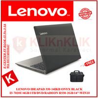 LENOVO IdeaPad 330-14IKB BLACK i3-7020U-4GB-1TB-R530-2GB-14-Win10