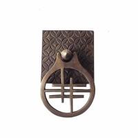 """6 """" Tarikan Pintu Lemari / Chest Ring Pull - HRP2222 Batik Kawung"""