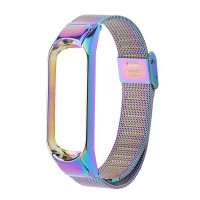 Promo Mi band 4 / 3 stainless steel Strap wrist strap Stainless Steel