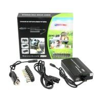 adaptor universal laptop 100watt ac dc - charger notebook 100 watt