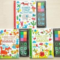 Usborne Rubber Stamp Activities / Activity book / buku aktivitas anak