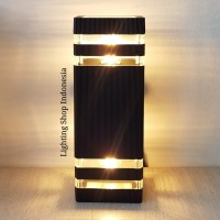 L015 /2A lampu dinding taman waterproof minimalis kotak pagar outdoor