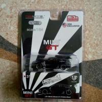 Mini GT no 31 LB Works Nissan GT R35 Matte Black Mijo Exclusive