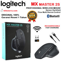 LOGITECH MX MASTER 2S Wireless Bluetooth Mouse Darkfield ORIGINAL
