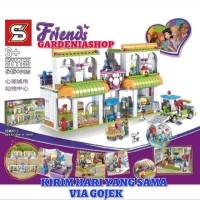 BRICK SY 1153 FRIENDS HEARTLAKE CITY PET CENTER KADO ULTAH