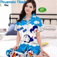 Piyama Doraemon - CP / Katun Jepang / Baju Tidur Murah Wanita Dewasa