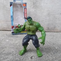 Action Figure Hulk Avengers - Miniatur Figur Karakter Marvel Tokoh