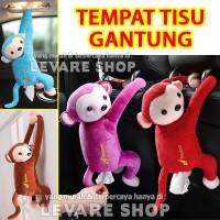 Tempat Kotak Tisu - Karakter Boneka Monyet Gantung di Mobil Rumah dll