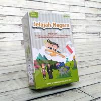 Flashcard Jelajah Negara - KONSEP Kartu Pintar Mainan Edukasi Anak