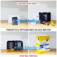 Alat Cek Tes Gula Blood Glucose+Keton/Ketone FREESTYLE OPTIUM