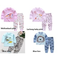 Bekasi! 0-6thn Setelan Lengan Panjang /Set Baju Tidur Bayi part 4 - Hello kitty 80
