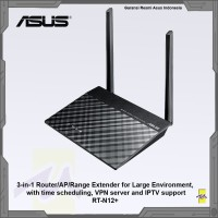 ASUS RT-N12+ Wireless 3-in-1 Router / AP / Range WiFi Extender