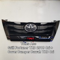 Grill Depan TRD Fortuner Vrz 2016 2018 Front Gril Grille Toyota Ori