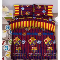 Sprei Fata club bola ukuran 180 x 200 King no.1 - New Barcaa
