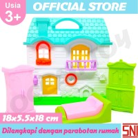Mainan Anak Perempuan Vila Set Mainan Anak Rumah Rumahan OCT2907