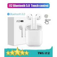 TWS i12 True Wireless Stereo Earphone BT 5.0 - Headset Bluetooth