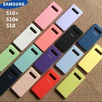 Silicone Cover Samsung Galaxy S10 Plus S10Plus Silikon SoftCase