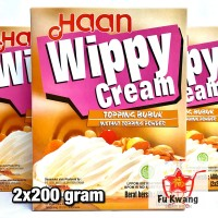 Haan Wippy Whippy Whipped Whip Whipping Cream Topping Bubuk 400 gram