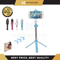 Tongsis 3in1 Tripod Remote Bluetooth