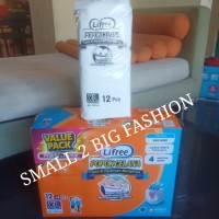 lifree tipis XL12 x 3 pack light pants celana / lifree tipis XL 12 x 3