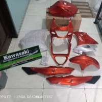 Full cover body set ninja rr old orange original Kawasaki