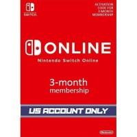 Nintendo Switch Online Membership 3 Months Digital Download Code USA