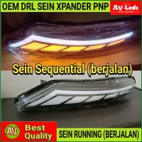 LAMPU LED XPANDER OEM HEADLAMP LED DRL + FLOWING SEIN - RUNNING SEIN