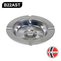 Asbak Bulat Stainless IDEAL B22AST (diameter 13Cm)