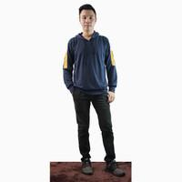 Sweater hoodie lengan panjang Pria Gaya Korea - Jfashion Petersweater