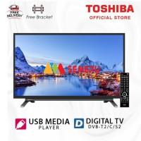 "TOSHIBA LED Digital TV 32"" + Breket 32L3965"