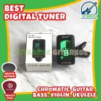 Tuner Gitar Digital Clip On Chromatic Guitar GT-10S