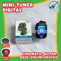 Tuner Gitar Digital Mini Clip Tuner Guitar GT-300