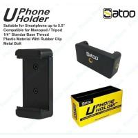 Holder U for Smartphone HP Tripod Monopod Gorilla Pod Size 55-85mm