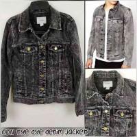 OLD NAVY Men Tie Dye Denim Jacket Pria Wanita Branded Original