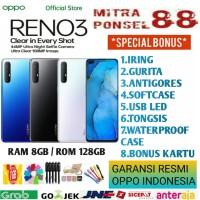 OPPO RENO 3 RAM 8/128 GARANSI RESMI OPPO INDONESIA