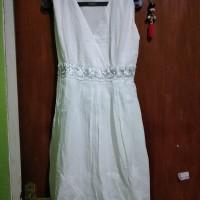 Dress putih prelov