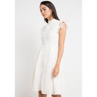 EDITION Woman Ruffle Detail Ed34 Dress